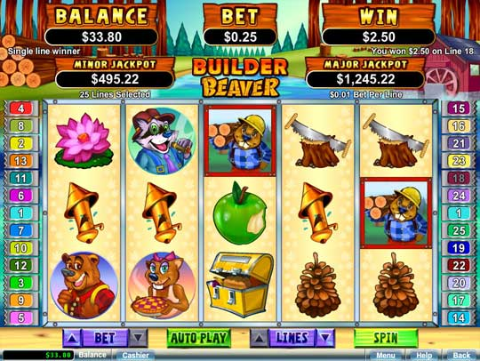 Coolcat Casino - Builder Beaver Slots