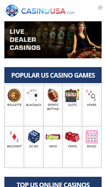 casinousa.com home page